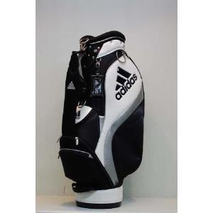 【アウトレット】アディダス【adidas】メンズJM123 SPスタンダードカートバッグ [ホワイト/ブラック] N50851|onepoint