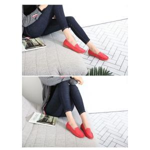 フラットシューズ レディース シンプル 2018 春 ファッション 靴 婦人靴|ones-style|08