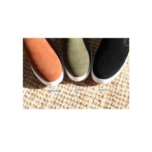 スリッポン レディース スニーカー 裏起毛 ヌバックレザー 2017 秋 冬 ファッション 靴 婦人靴|ones-style|03