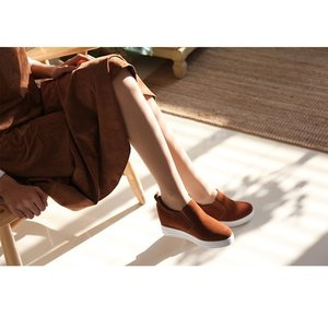 スリッポン レディース スニーカー 裏起毛 ヌバックレザー 2017 秋 冬 ファッション 靴 婦人靴|ones-style|05