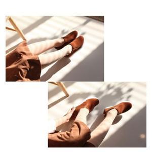 スリッポン レディース スニーカー 裏起毛 ヌバックレザー 2017 秋 冬 ファッション 靴 婦人靴|ones-style|06