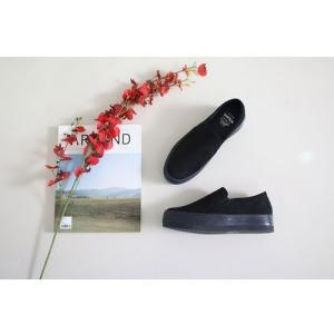スリッポン スニーカー レディース スエード調 厚底 紐無し ぺたんこ 春 ファッション 靴 婦人靴 カジュアル|ones-style|16