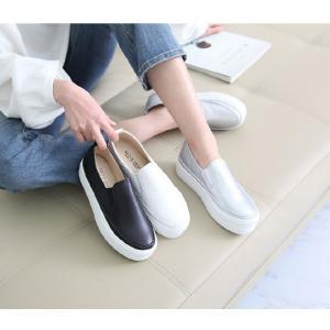 スリッポン レディース スニーカー シンプル 2018 春 ファッション 靴 婦人靴|ones-style|02
