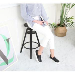 スリッポン レディース スニーカー シンプル 2018 春 ファッション 靴 婦人靴|ones-style|11