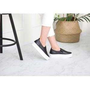スリッポン レディース スニーカー シンプル 2018 春 ファッション 靴 婦人靴|ones-style|13