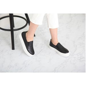 スリッポン レディース スニーカー シンプル 2018 春 ファッション 靴 婦人靴 ones-style 15