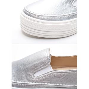 スリッポン レディース スニーカー シンプル 2018 春 ファッション 靴 婦人靴 ones-style 17