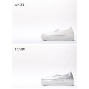 スリッポン レディース スニーカー シンプル 2018 春 ファッション 靴 婦人靴|ones-style|03