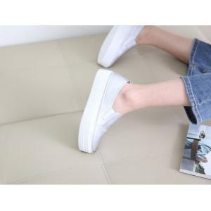 スリッポン レディース スニーカー シンプル 2018 春 ファッション 靴 婦人靴|ones-style|06