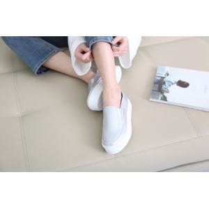 スリッポン レディース スニーカー シンプル 2018 春 ファッション 靴 婦人靴|ones-style|07