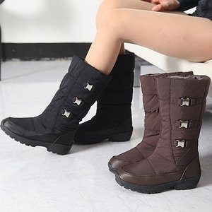 ミドルブーツ 裏起毛 中綿 防寒ブーツ ブーツ レディース 秋冬 ファッション レディース 靴 婦人靴 30代 40代