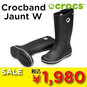 7b196993951ad3 アウトレット特価【crocs/クロックス 正規品】ジョーント ウィメンズ crocband jaunt women's 長靴 レインシューズ