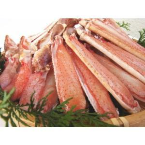 送料無料 蟹しゃぶ カニ鍋 セット 生ずわい蟹 ハーフカット 1.2kg|onh