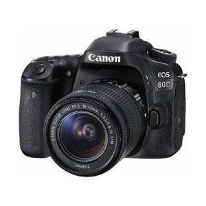 キャノン EOS 80D EF-S18-55 IS STM レンズキット【送料無料】 2420万画素 デジタル一眼カメラ [EOS80DEFS1855ISSTMレンズキット]|onhome