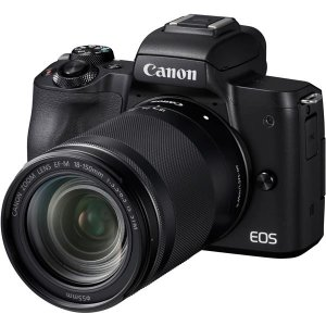 キヤノン 2410万画素 デジタル一眼カメラ EOS Kiss M EF-M18-150 IS ST...