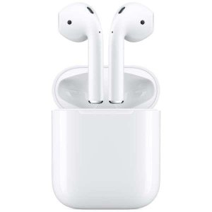 APPLE フルワイヤレスブルートゥースイヤホン 第2世代AirPods AirPods with ...