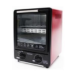 ヒロコーポレーション CH-09V 省スペース縦型オーブントースター 赤×黒 [CH09V] 4562351018609 【送料無料】|onhome
