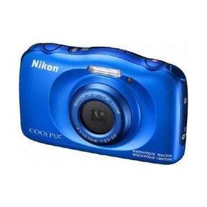 ニコン COOLPIX W100 ブルー【送料無料】 1317万画素 デジタルカメラ [COOLPIXW100ブルー]|onhome