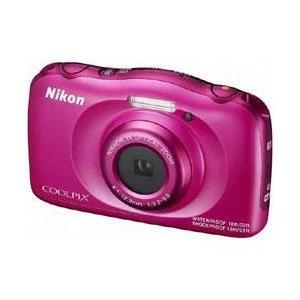 ニコン COOLPIX W100 ピンク【送料無料】 1317万画素 デジタルカメラ [COOLPIXW100ピンク]|onhome