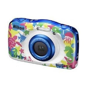 ニコン COOLPIX W100 マリン【送料無料】 1317万画素 デジタルカメラ [COOLPIXW100マリン]|onhome