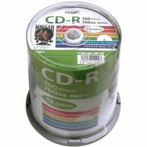 HIDISK HDCR80GP100 データ用CD-R 52倍速 100枚入 [HDCR80GP100]|onhome