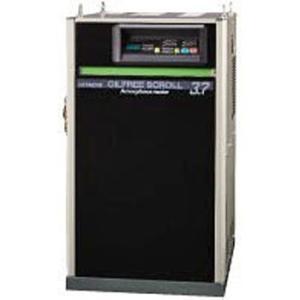 【直送品】日立産機システム スクロールコンプレッサー SRL-A7.5DV OILFREE SCROLL Amorphous motor|onishi-air