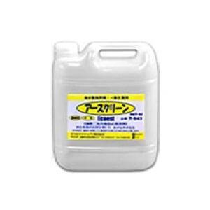 【送料無料】 アースクリーン T-043 【5L】10倍希釈 流出油処理剤 乳化・白濁化防止|onishi-air