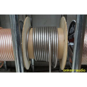 SHARKWIRE シャークワイヤー SP1808GC 80μ銀メッキ シグナル/デジタルケーブル 1m単位の切売|onkenaudio
