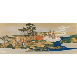 狩野元信筆 清凉寺栴檀瑞像縁起畫卷