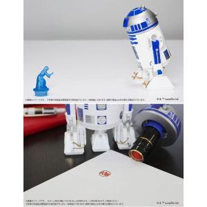 スターウォーズ R2-D2 ネーム印 スタンド シャチハタ ネーム9 クイック10 サンビー サンスター文具  ギフト プレゼント|online-kobo|05