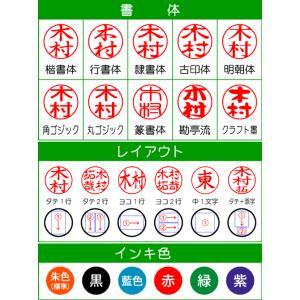 シャチハタ プチネーム 送料無料 印面付/シヤチハタ/ネーム9/印鑑|online-kobo|03