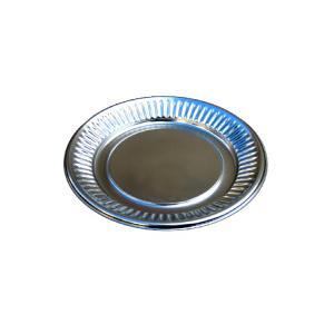 銀皿 丸皿 取り皿 K2 100枚セット オードブル皿 パーティー皿 プラスチック皿 使い捨て皿 銀...