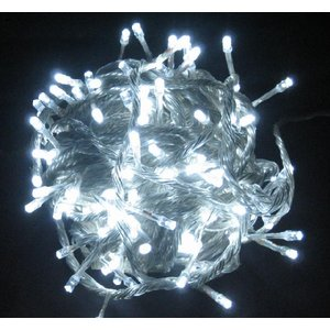 イルミネーション LED クリスマス 屋外用 24V 100球 プ白球 online-pac