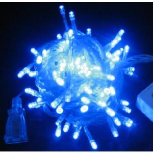 【onlinepacプレゼント商品】 LED 青 100球 プリズムウェーブ 特別商品 6m online-pac