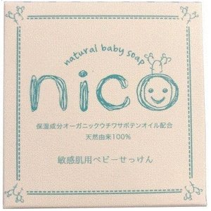 nico にこ せっけん 50g ニコ 石鹸 ソープ ベビー 敏感肌|online-shop-mo