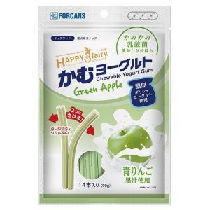 フォーキャンス ハッピー・スリーフェアリー かむヨーグルト 青リンゴ 14本(90g)|onlineshop