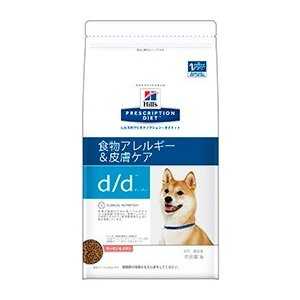 ヒルズ プリスクリプション・ダイエット 犬用 d/d (食物アレルギー&皮膚ケア) サーモン&ポテト 3kg【療法食】【送料無料】|onlineshop