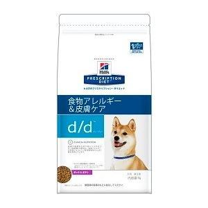 ヒルズ プリスクリプション・ダイエット 犬用 d/d (食物アレルギー&皮膚ケア) ダック&ポテト 7.5kg【療法食】【送料無料】|onlineshop