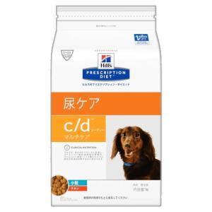 ヒルズ プリスクリプション・ダイエット 犬用 c/d (尿ケア) マルチケア 小粒 1kg【療法食】|onlineshop
