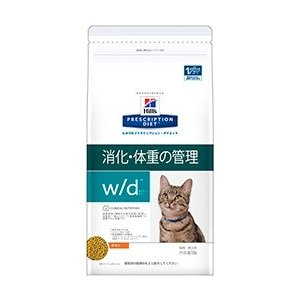 ヒルズ プリスクリプション・ダイエット 猫用 w/d (消化・体重の管理) 4kg【療法食】【送料無料】|onlineshop