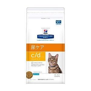 ヒルズ プリスクリプション・ダイエット 猫用 c/d (尿ケア) マルチケア フィッシュ入り 500g【療法食】|onlineshop