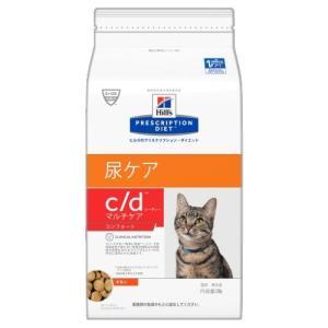 ヒルズ プリスクリプション・ダイエット 猫用 c/d (尿ケア) マルチケアコンフォート 500g ...