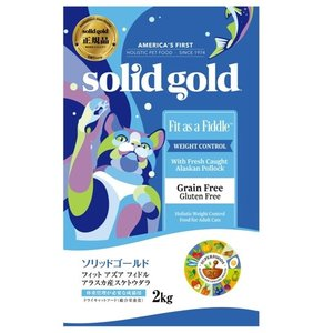 ソリッドゴールド フィット アズア フィドル(猫用) 2kg【正規品】|onlineshop