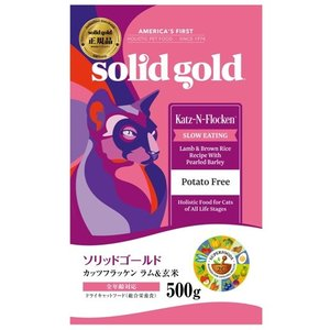ソリッドゴールド カッツフラッケン(猫用) 500g【正規品】|onlineshop