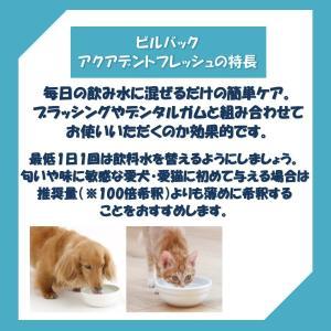ビルバック 犬用・猫用 アクアデント 250ml (液体デンタルケア)|onlineshop|02
