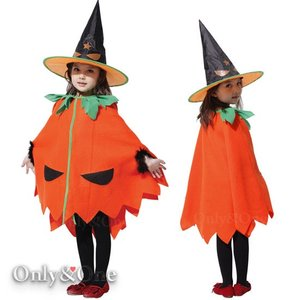 ハロウィンコスプレ子供 パンプキン ドレス 衣装 子供服 キッズ