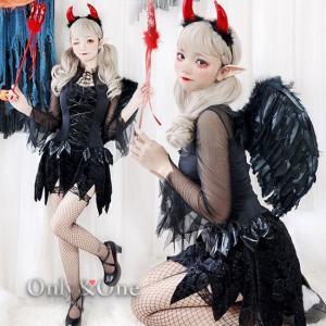 悪魔コスプレ デビルコスプレ ハロウィン ドレス Sexy