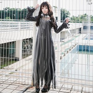 コスプレ ゴースト おばけ 衣装 ドレス コス...の詳細画像1