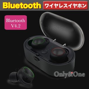 Bluetooth イヤホン T02 高音質 スポーツ 汗防水 ブルートゥース 軽量 ワイヤレス イヤホン(ipn)(she)|only-and-one