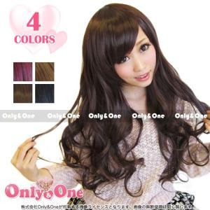ウィッグ/フルウィッグ/ゆる巻き/ロングフルウィッグ 全4色(wig)|only-and-one